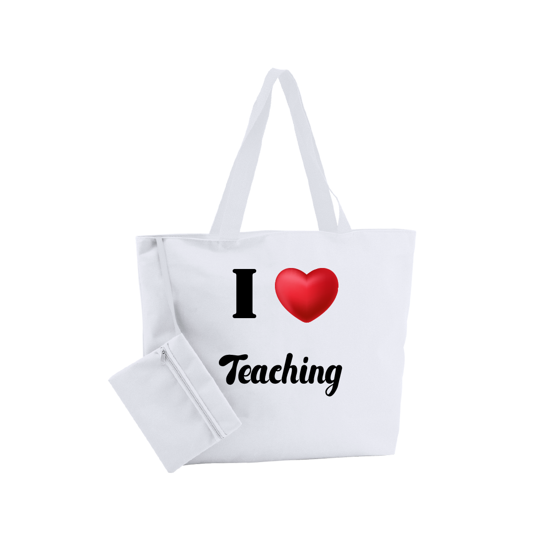 Bolsa de Playa I LOVE TEACHING