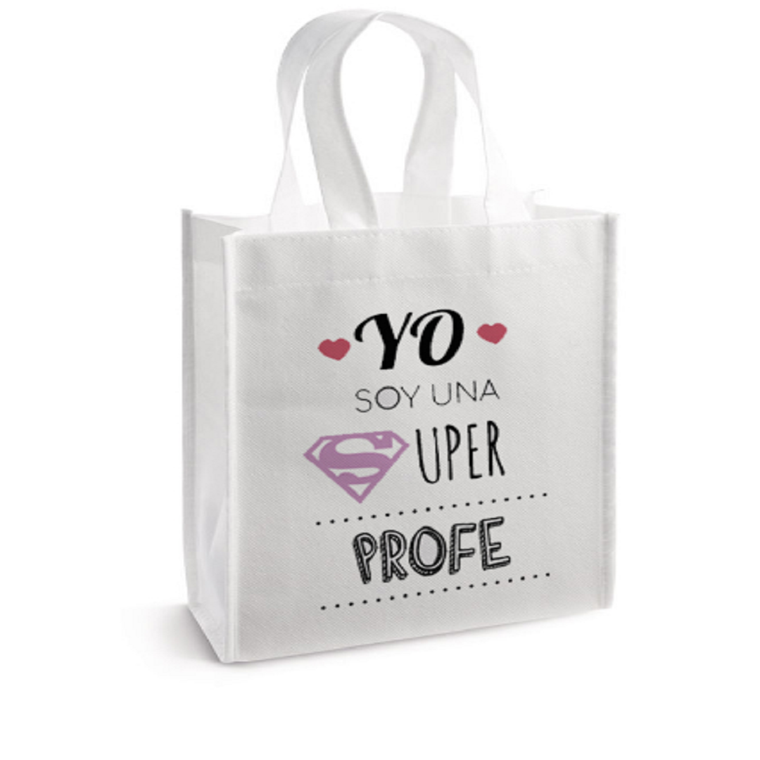 Bolso Blanco Super Profe