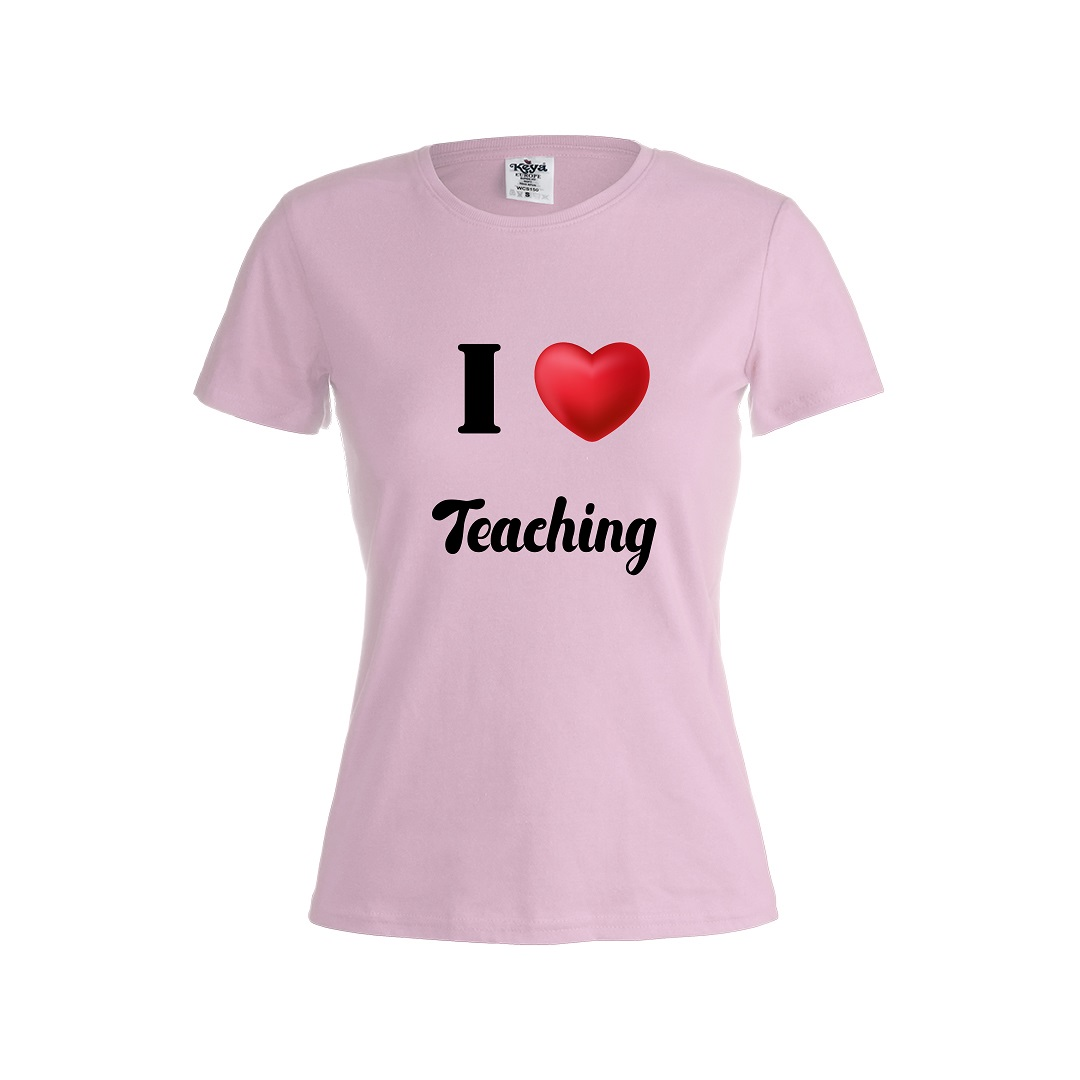 Camiseta verano I love teaching