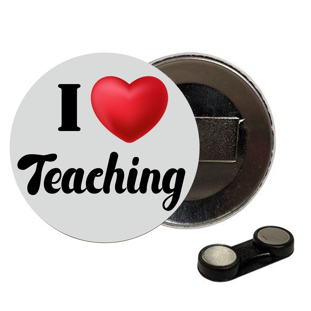 Chapa I love teaching ( imán)