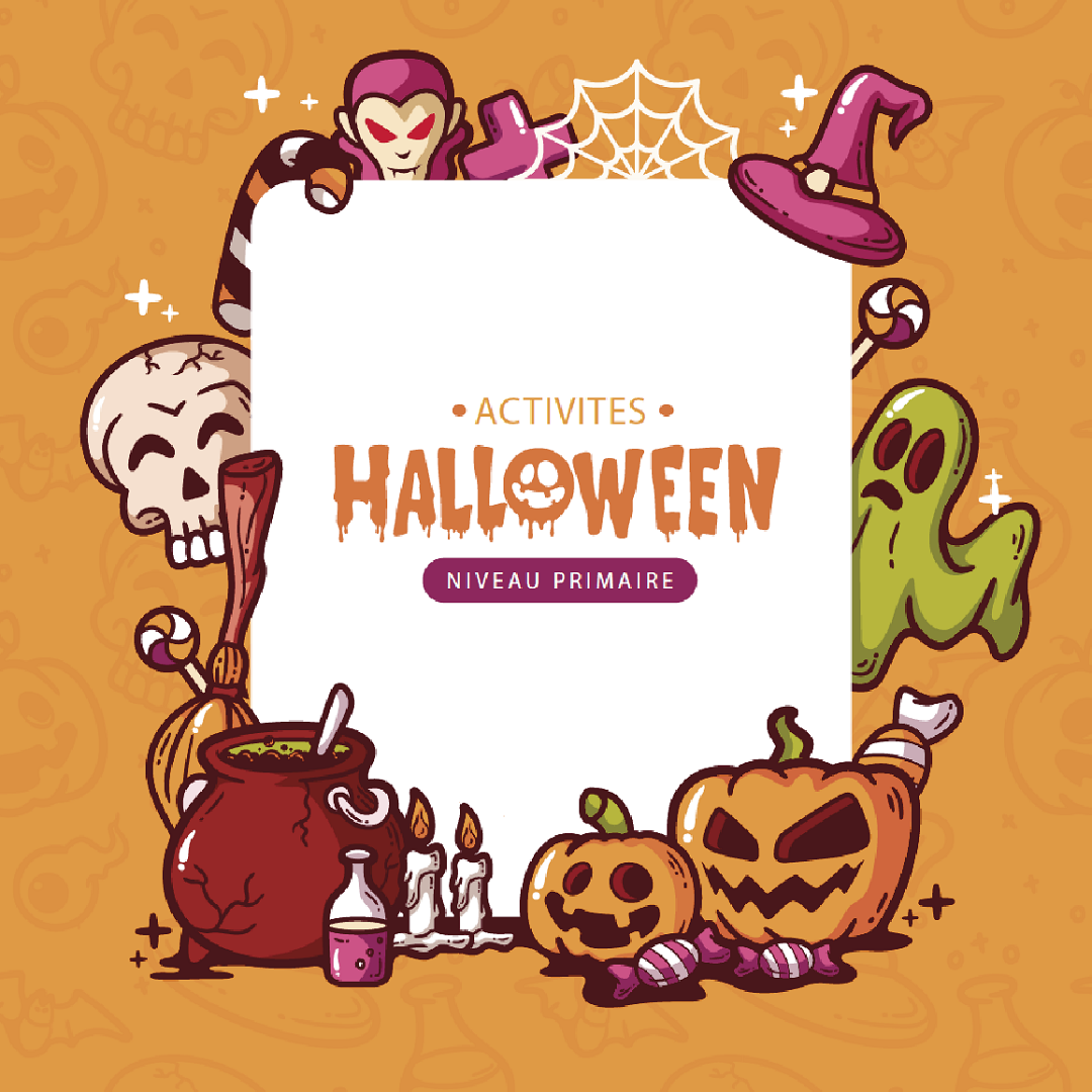 Fichas didácticas HALLOWEEN ( ING/FR/IT)