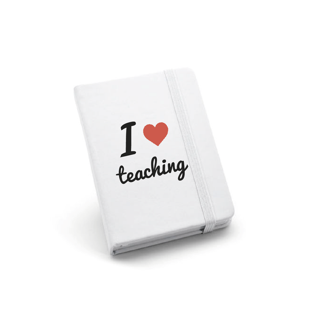 Libreta I love teaching