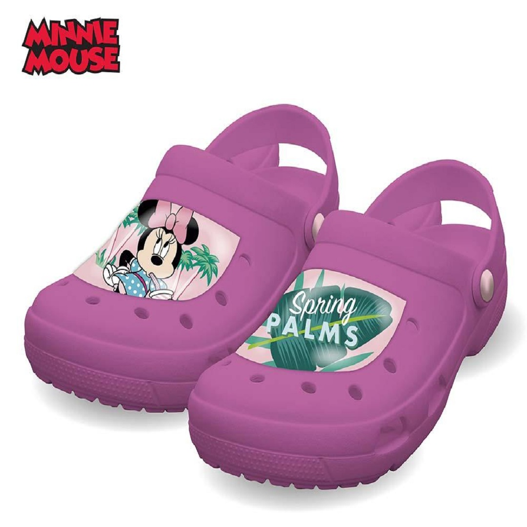 Zuecos Minnie impermeables