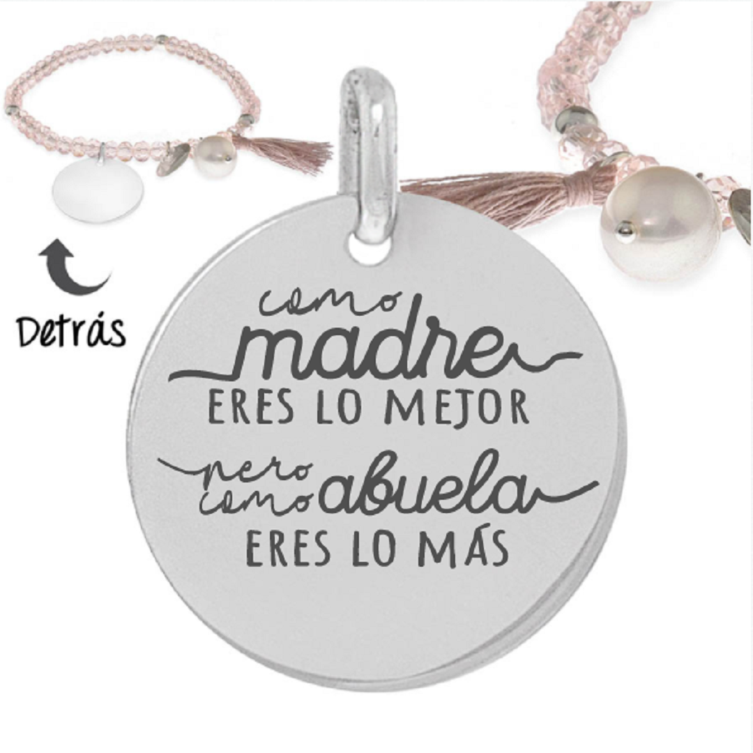 Pulsera Plata Little Passion abuela