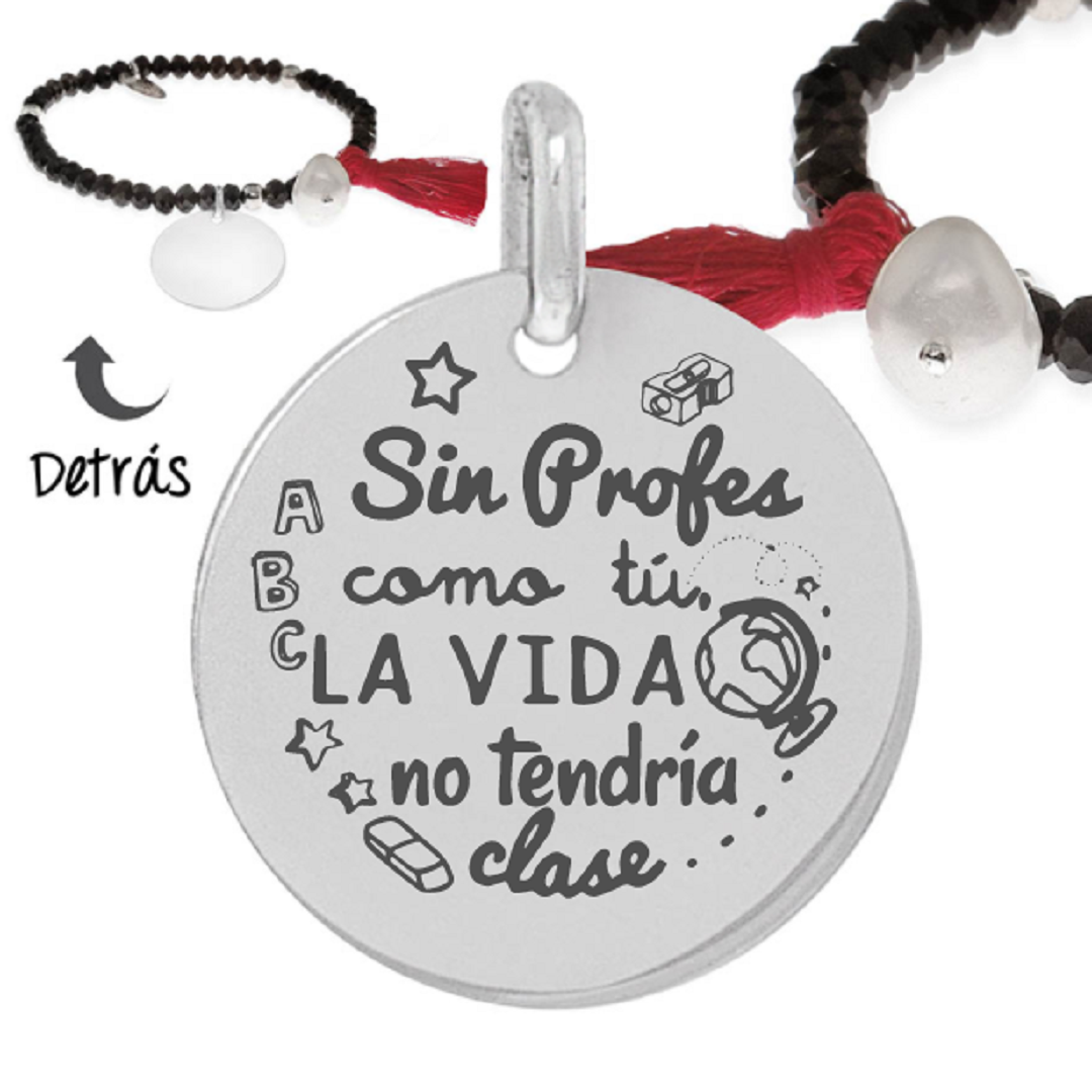 Pulsera plata little passion Clase