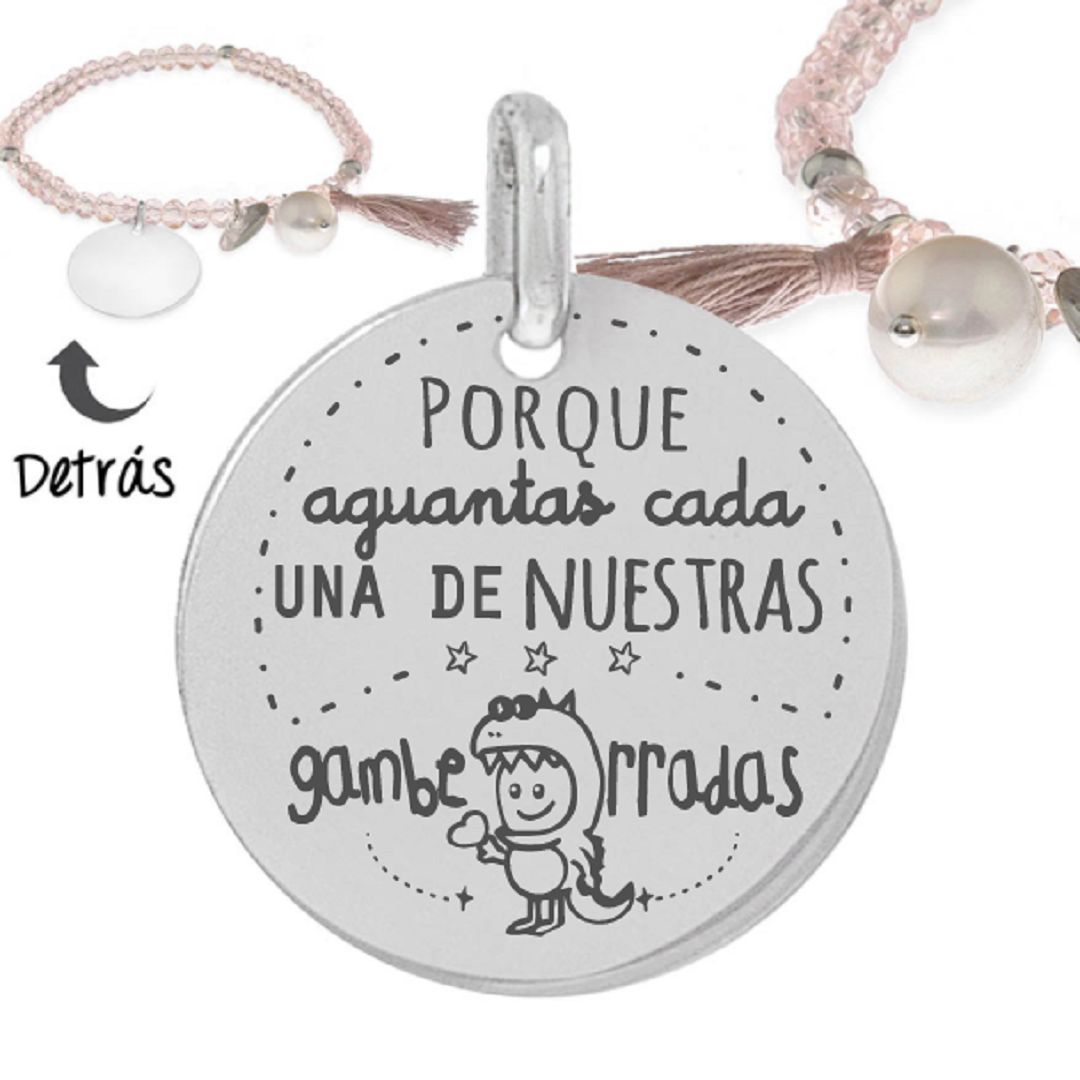Pulsera plata little passion Gamberradas