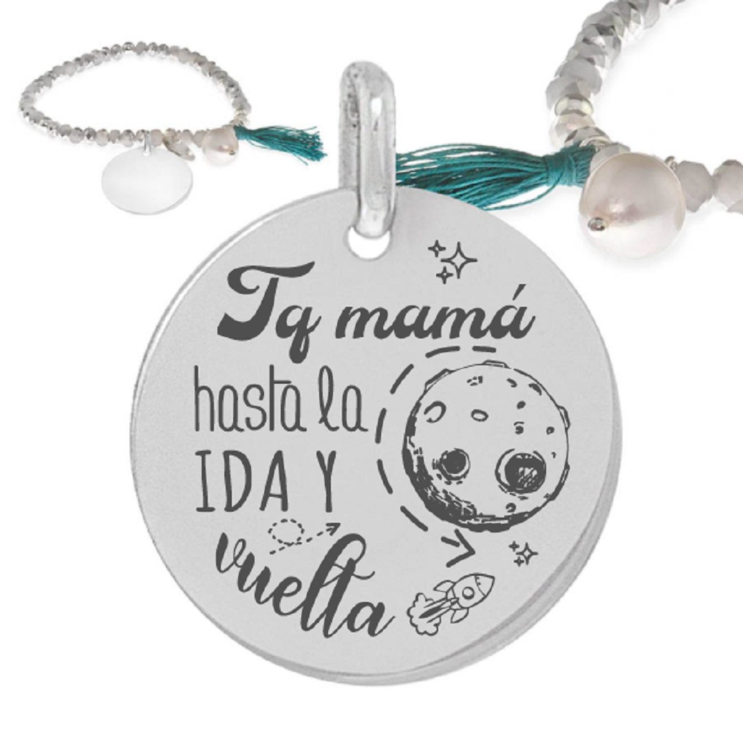 Pulsera Plata Little Passion Luna